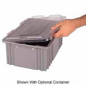 LEWISBins Heavy Duty Snap-On Cover 2000 Series CNDC2020, Clear - Pkg Qty 12