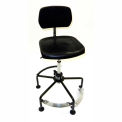 Lyon Standard Industrial Chair with 2-level Footrest
