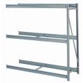 """Bulk Storage Rack Add-On, 3 Tier, Without Decking, 60""""W x 24""""D x 84""""H Gray"""