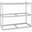 "Record Rack Starter, 4 Level, Guide Rails, 80 Box Cap, 69""Wx32""Dx84""H Putty"