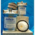 Mitco 264FM Complete Fuel Oil Filter, W/Felt Filter Element, Small, 15 GPH Flow Rate