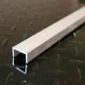 """M-D Aluminum Channel, 59857, 48""""L X 25/64""""W X 1/2""""H X 1/16""""D, Silver, D#0320"""