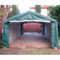 House/ Peak Style One Car Garage 12'W x 20'L x 8'H - Green