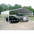 Gray 22'W x 24'L x 12'H  Steel Carport
