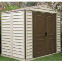 Outdoor Woodside Premier PVC Storage Shed 10x8