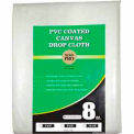 Merit Pro® 9' x 12' 8 oz. Med. Weight Canvas PVC Backed Drop Cloth