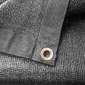 Xtarps, MN-MS90-B0616, 90% Shade Cloth, Shade Tarp, 6'W x 16'L, Black