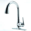 cleanFLO By Madgal 8170 Pull Down Kitchen Faucet, Chrome Finish