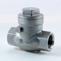 1/2 In. 316 Stainless Steel Swing Check Valve - 200 PSI