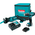Makita CT229R, 12V Max CXT Lithium-Ion Cordless 2-Pc. Combo Kit, 2.0Ah