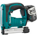 "Makita® BST221, 18V LXT Lithium-Ion Cordless 3/8"" Crown Stapler Kit"