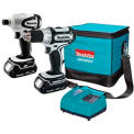 Makita® LCT200W, 18v Compact Lithium-Ion Cordless 2-Pc. Combo Kit