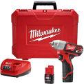 """Milwaukee 2463-22 M12™ 3/8"""" Impact Wrench Kit Cordless Lithium-Ion"""