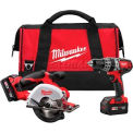 Milwaukee® 2698-22, M18™ Cordless 2-Tool Combo Kit