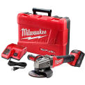 "Milwaukee® 2781-21 M18™ FUEL™ 4-1/2""-5"" Grinder W/ Slide Switch & Lock-On Kit"