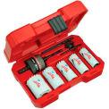 Milwaukee® 49-22-4005 8-pc General Purpose Ice Hardened™ Hole Saw Kit