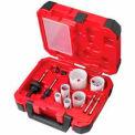 Milwaukee® 49-22-4145, 10-Pc Plumbers Ice Hardened™ Hole Saw Kit