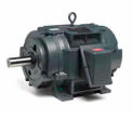 Marathon Motors Oil Well Pump Motor, Y201, 3HP, 230/460/796V, 1200RPM, 3PH, 215T FR, DP
