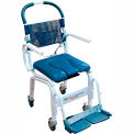 "Mor-Medical Euro Shower Commode Chair, 300 lbs. Capacity, 18""W Seat"