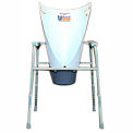 "Mor-Medical 24"" Tall Bedside Commode Urifunnel"