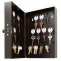 STEELMASTER® 28-Key Steel Security Cabinet, Black