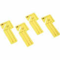 "MMF ""Out Key"" Control Tags 201300212 - Yellow, Pack of 24 Tags"