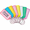 STEELMASTER® Multi-Color Replacement Key Tags, Assorted 4 Pack