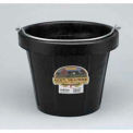 Little Giant All-Purpose Pail DF12, DuraFlex Rubber, 12 Qt., Black