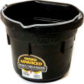 Little Giant All-Purpose Pail DF8FB, DuraFlex Rubber, 8 Qt., Black