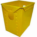 Nestable Tote, 15x10-3/4x18, Yellow (Qty 5-165)