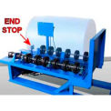 Roll Poly Drum on Morse® 456 Field Install with Extra Wheels & End Stop