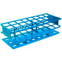 Thermo Scientific Nalgene™ Unwire™ Test Tube Racks, Blue, For 30mm Tubes, Case of 8