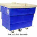 Hinged Lid for Bulk Recycling Truck - White