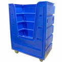 Cadet Blue Hopper Front Poly-Trux® 36 Cu. Ft.