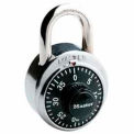 Master Lock General Security Combo Padlock, Black Dial