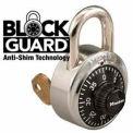 Master Lock® General Security Combo Padlock, Key Control, Black Dial