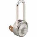 Master Lock General Security Combo Padlock, Key Control, Grey