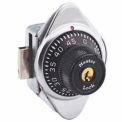 Master Lock Built-In Combination Lock Black Dial, Right Hinged