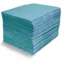 Blue Fine Fiber Oil-Only Heavy Weight Pads 100/Bale 18 x 15