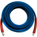"MTM Hydro Kobrajet 5800 psi 310 Degree 3/8""x 100' Blue Pressure Washing Hose"