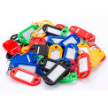 Barska 50 Assorted Key Tags AF12496 - Color Coded with Window Insert