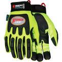 General Purpose Work Gloves, SWX00100 Large, Black/Purple - Pkg Qty 12