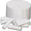 "Defend® Non-Sterile Cotton Rolls, #2, Medium 1-1/2"" x 3/8"", Box of 2000"