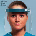Face Shield - Half Shield, 25/Box