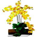 Nearly Natural Phalaenopsis Stem (Set of 12), Gold