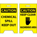 Floor Sign - Caution Chemical Spill Keep Out