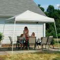 12x12 Slant Leg Pop Up Canopy - White Cover