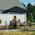 12x12 Slant Leg Pop Up Canopy - Black Cover