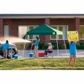 10x10 Slant Leg Pop Up Canopy - Green Cover