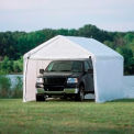 "10'x20' 1-3/8"" 8-Leg Canopy White - Cover w/Enclosure Kit"